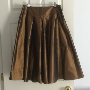 Pure silk Talbots skirt